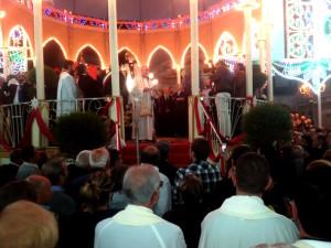 Modugno, 26 settembre: don Nicola interviene a conclusione della cerimonia della consegna delle chiavi della città